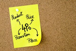 Product, Price, Promotion and Place