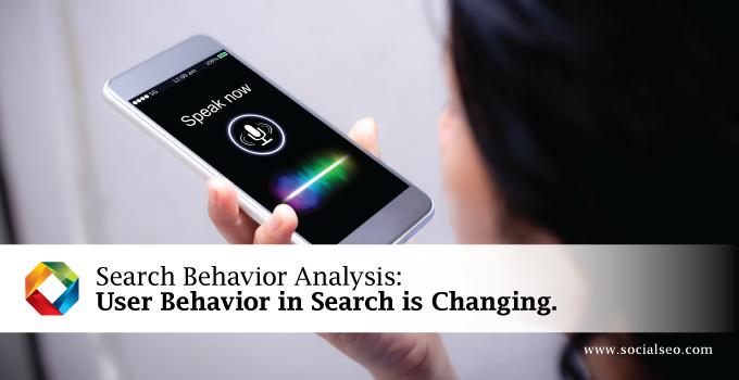 Search Behavior Analysis